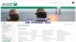qatar petroleum jobs 2015