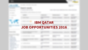 IBM jobs QATAR