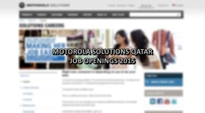 motorola solutions jobs