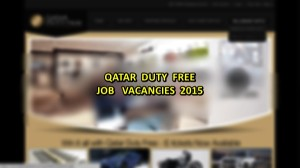 qatar duty free jobs