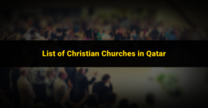 christian churches in qatar