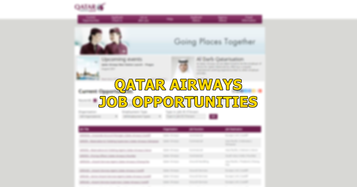 Qatar Airways Multiple Jobs September 2019 - Qatar OFW