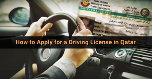 driving license application in qatar