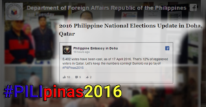 qatar pinoy voters