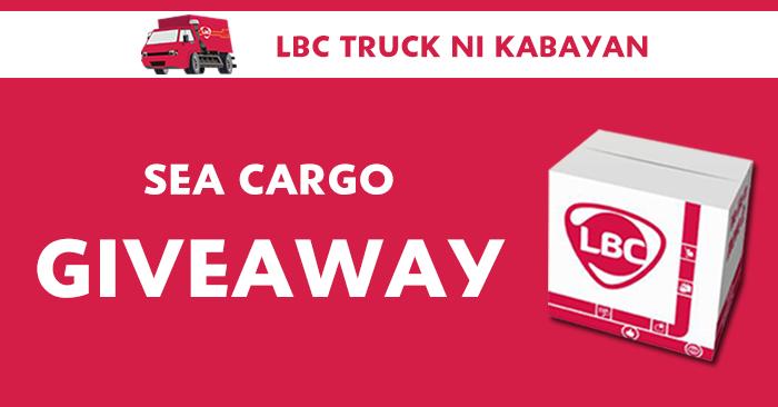 LBC truck ni kabayan giveaway