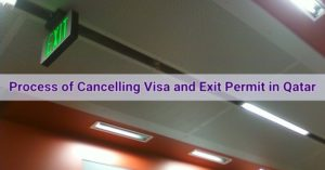 exit visa cancellation process