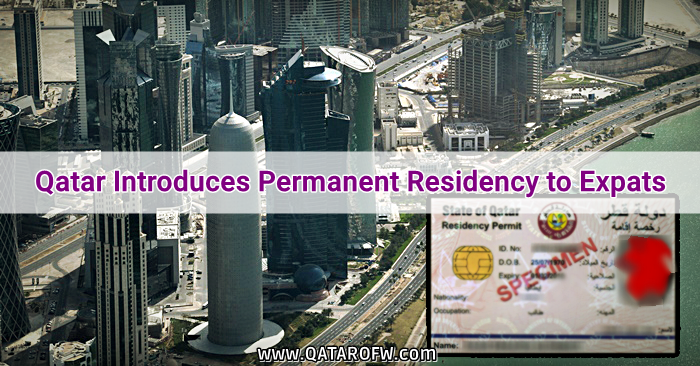 Qatar Introduces Permanent Residency to Qualified Expats | Qatar OFW