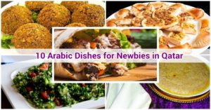 Arabic dishes in Qatar