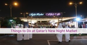 qatar night market