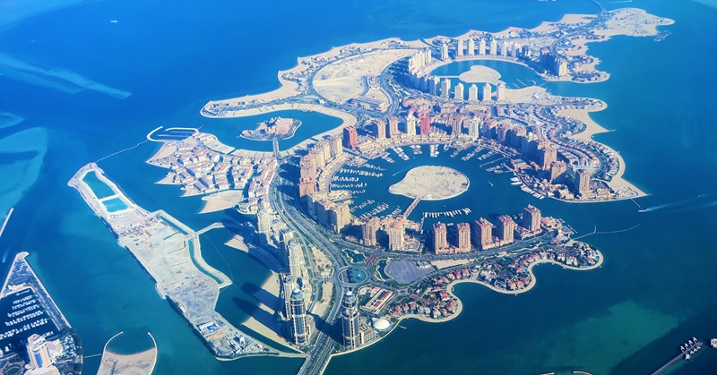 artificial islands qatar