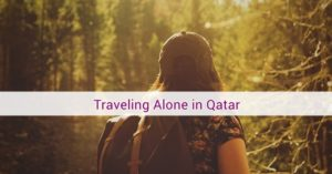 qatar travel alone
