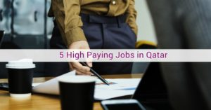 high paying jobs qatar