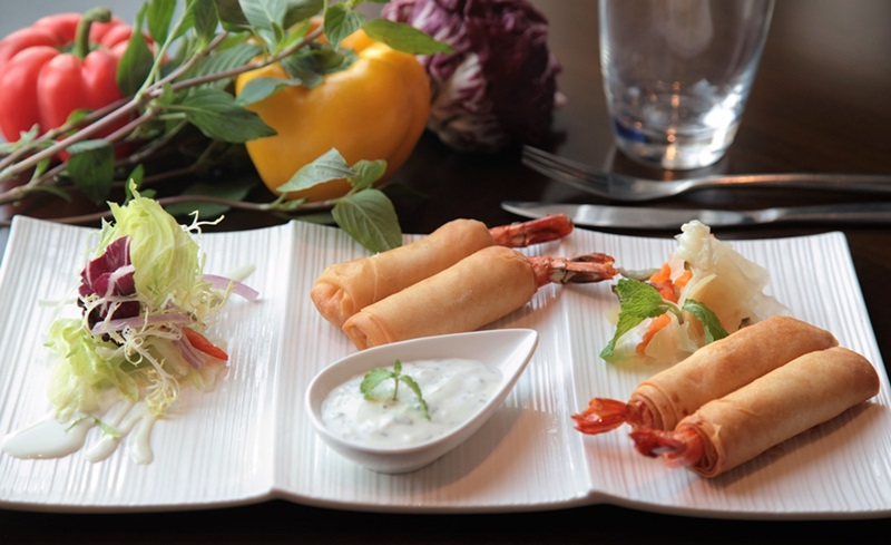 Easy to Prepare Spring Rolls