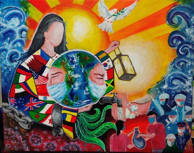 Filipino Artists in Qatar Dedicate Virtual Exhibit to Frontliners